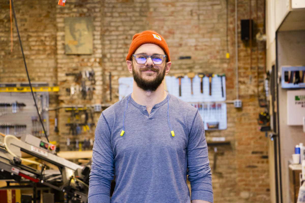 Nick Ward-Bopp of Maker Village KC | WeCreate KC | KCSouceLink