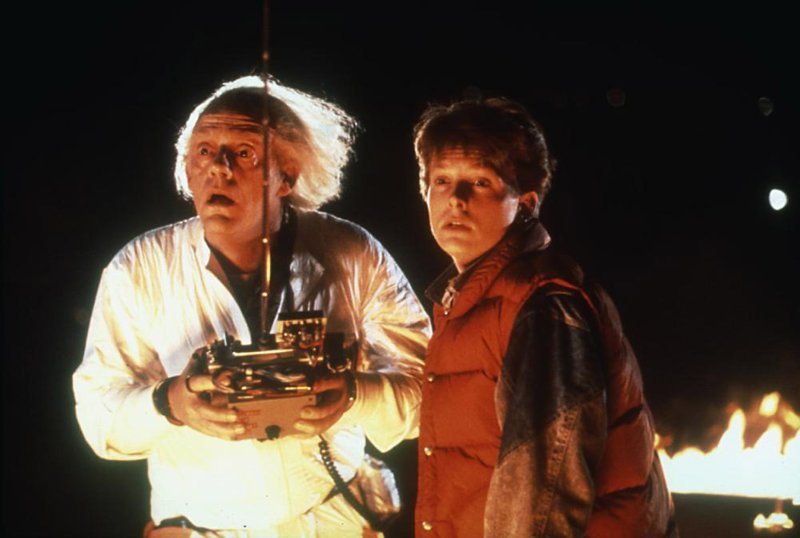 Doc Brown and Marty McFly | Universal