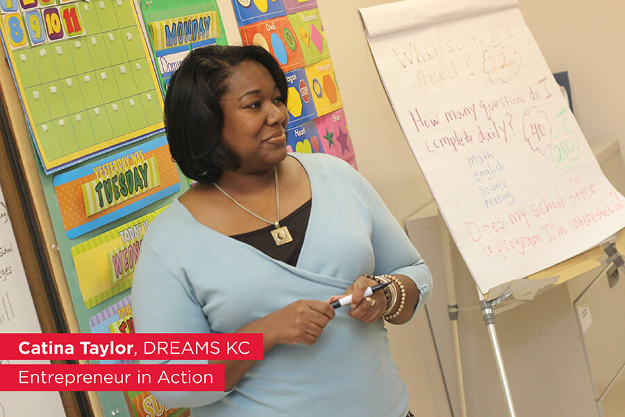 Catina K Taylor DREAMS KC Entrepreneur in Action