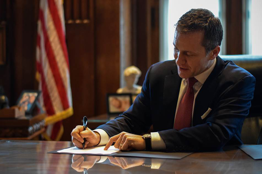 900-Eric Greitens Governor's Innovation Task Force Survey