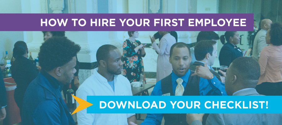Checklist: How to hire your first employee