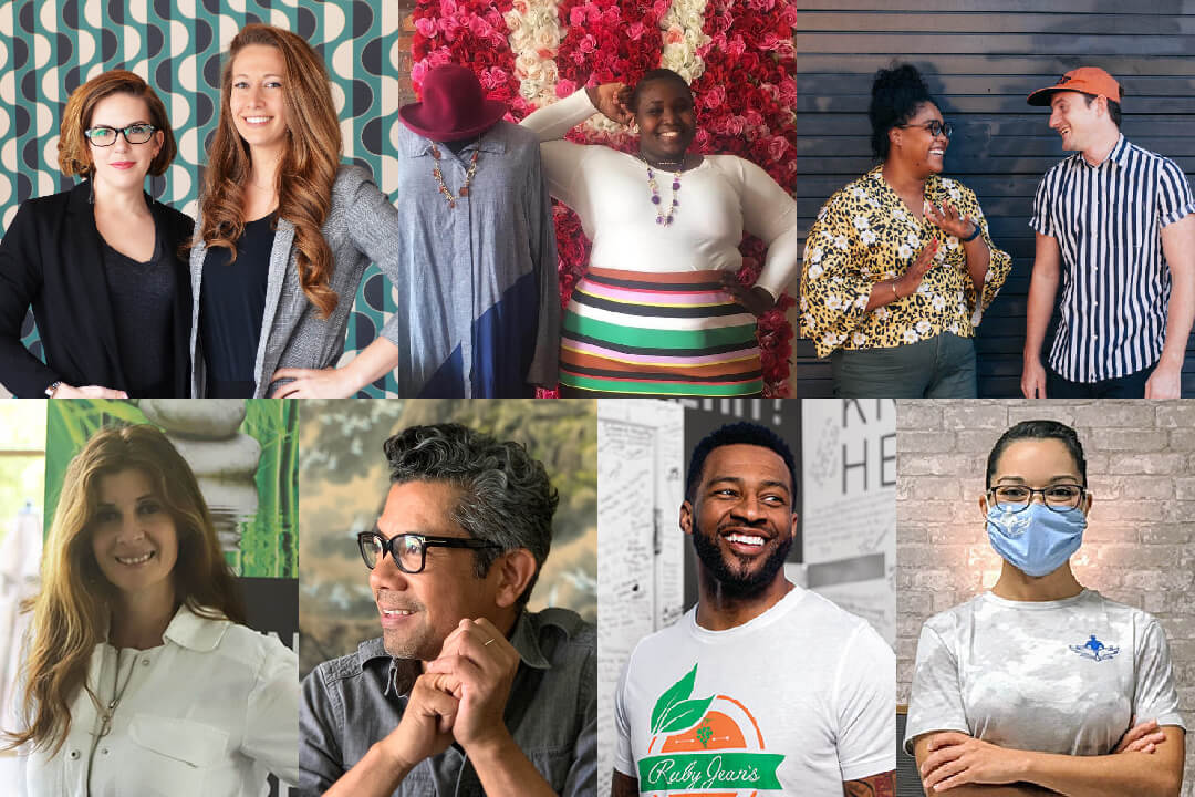 A collage of Kansas City entrepreneurs