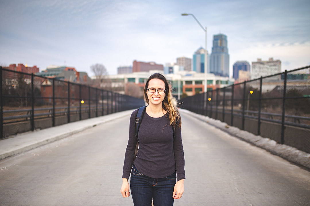 Lisa Peña, founder of Urban Hikes KC