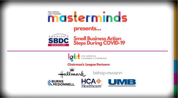 Mid-America LGBT Chamber Masterminds with Missouri SBDC