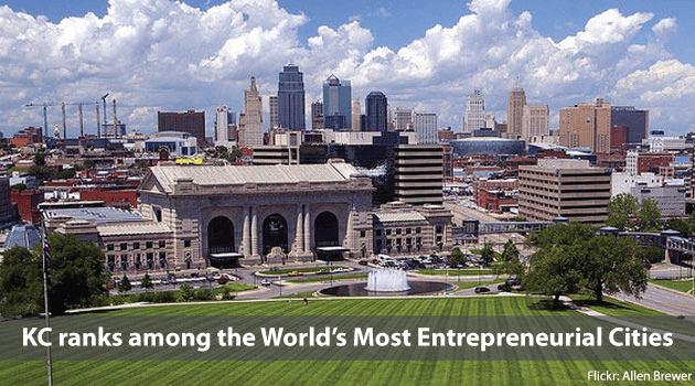 KC ranks among the world's most entrepreneurial cities
