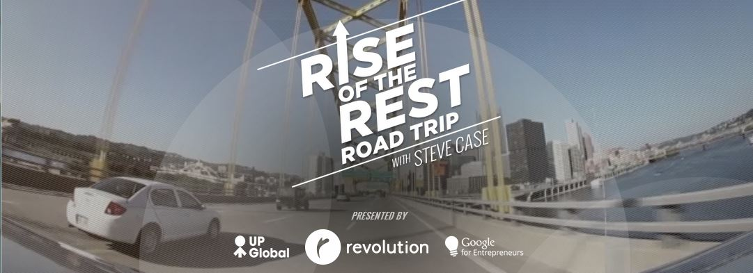 Oct. 9: Rise of the Rest Road Trip with Steve Case