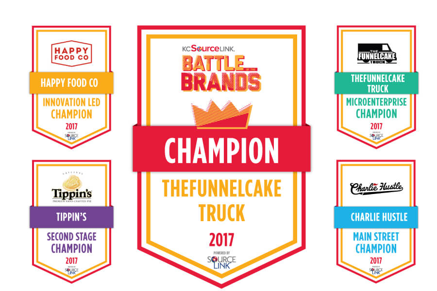 TheFunnelCake Truck wins KCSourceLinks Battle of the Brands