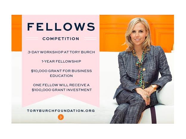 5a8e0e6d5929 Women Entrepreneurs  Apply Now for Tory Burch Foundation Fellows Competition