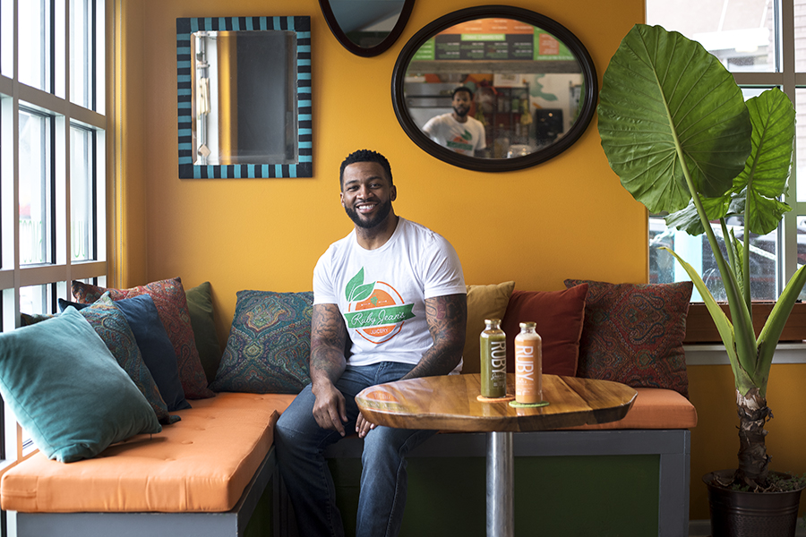 Chris Goode of Ruby Jean's Juicery