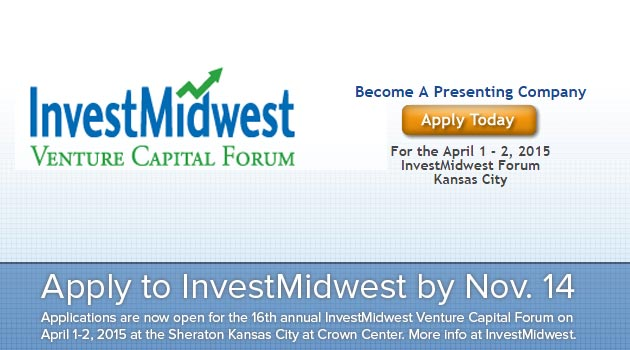 Apply to InvestMidwest by Nov. 14